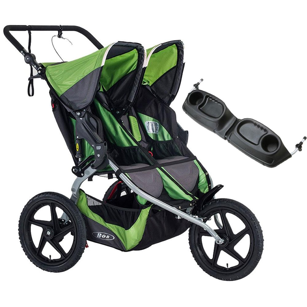 BOB 2016 Sport Utility Stroller Duallie - Meadow with FREE Diaper Bag by BOB (Image #1)