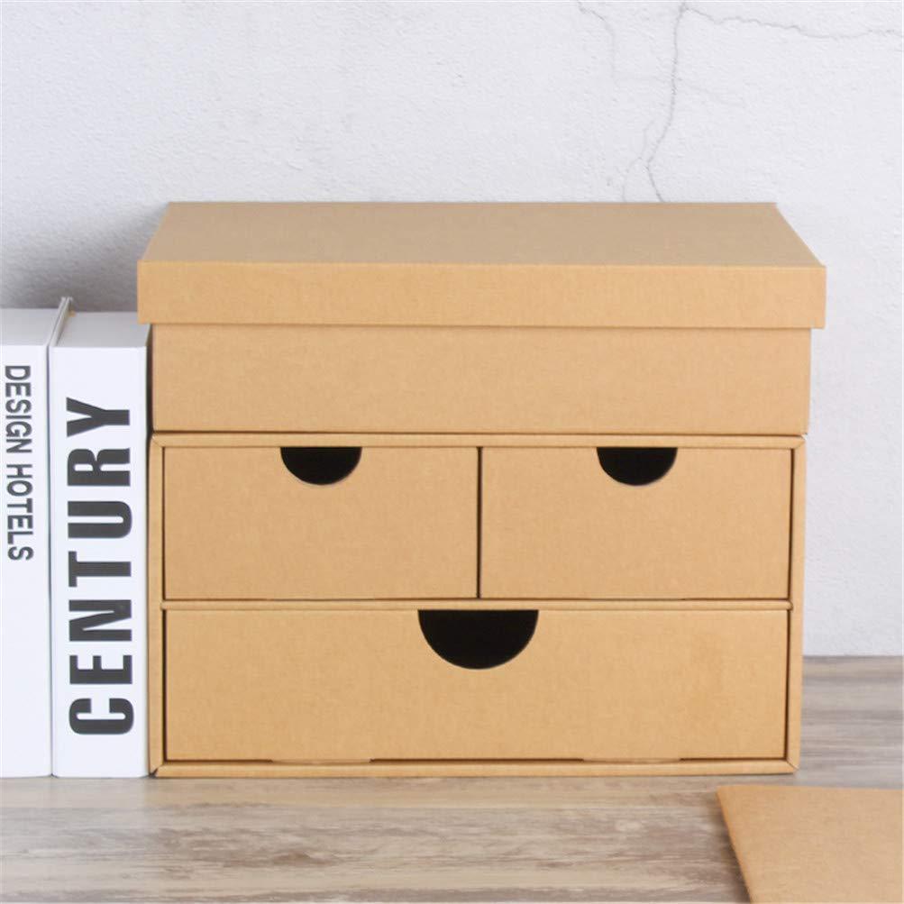 LHY SAVE Organizador Cajones con Tapa Carton Impermeable ...