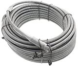 Spartan Tool 13/32'' x 75' Inner Core SparShine No. 8 Drain Snake Cleaning Cable 3448805