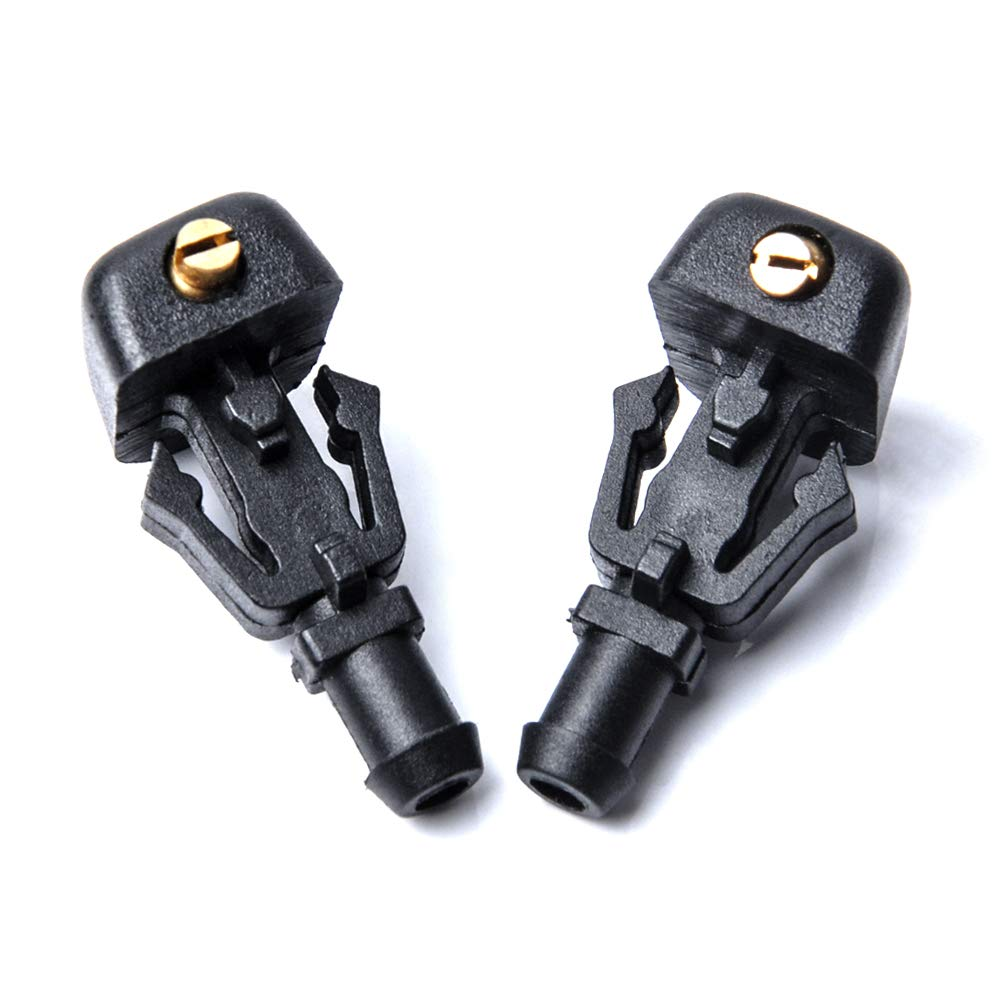 OTUAYAUTO Front Windshield Washer Nozzles - for 04-13 Ford F150 - Replaces OEM #: 3W7Z17603AA, Spray Jet Kit (pack of 2)
