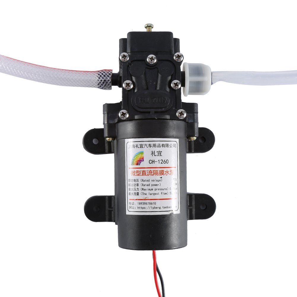 Kit de bomba de extractor de aceite el/éctrico 12V 60w Extractor de l/íquido de aceite de autom/óvil Kit de bomba de transferencia de intercambio de barrido