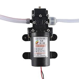 Kit de bomba de extractor de aceite eléctrico, 12V 60w Extractor de líquido de aceite de automóvil Kit de bomba de transferencia de intercambio de barrido