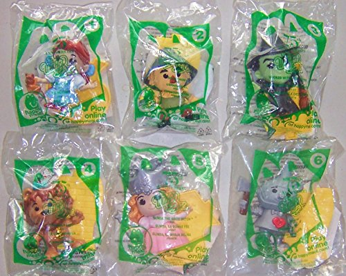 Mcdonalds Happy Meal 2013 75th Anniversary Wizard Of Oz set of 6