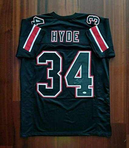 reputable site 3eb58 521a0 Carlos Hyde Signed Jersey - JSA Certified - Autographed ...