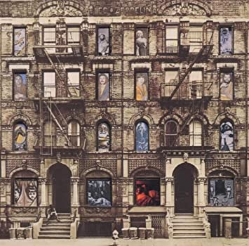 cd led zeppelin - physical graffiti