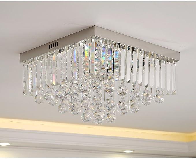 Plafoniere Acciaio E Cristallo : Stage lighting lampadario plafoniera in cristallo