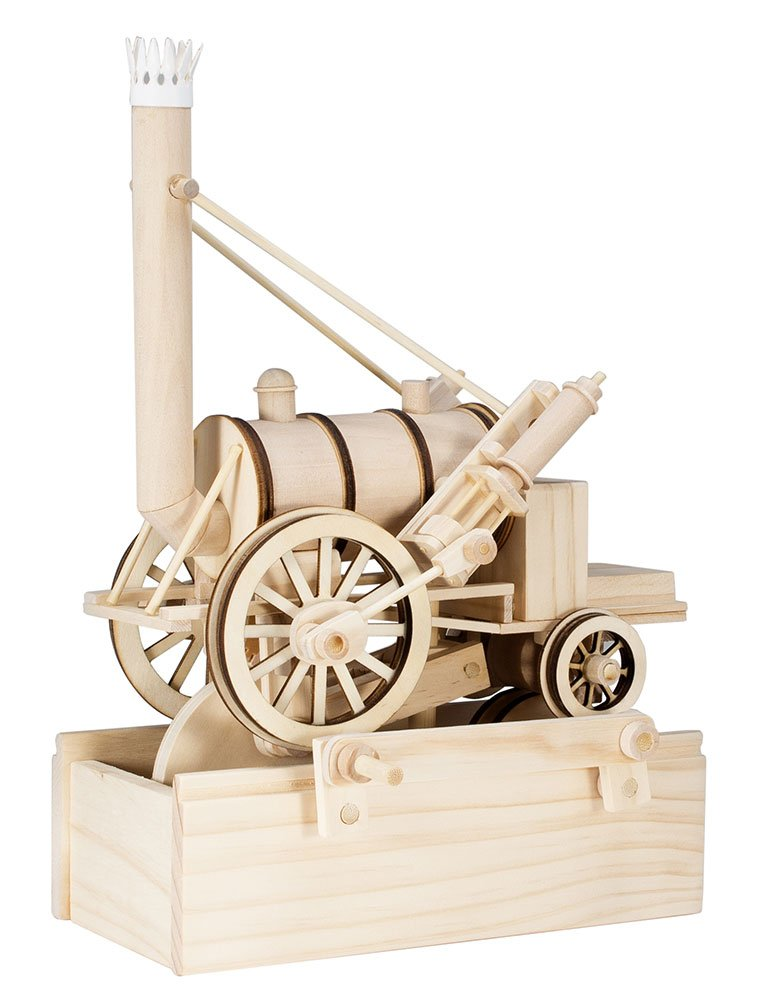 Timberkits Stephenson Rocket Model
