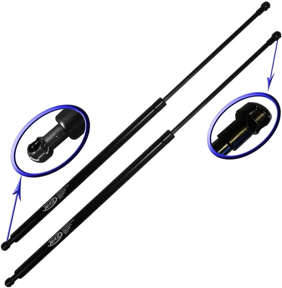 Left and Right Side Two Rear Hatch Gas Charged Lift Supports for 2004-2009 Cadillac SRX WGS-432-2 Wisconsin Auto Supply