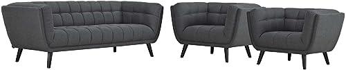 J M Furniture Soho White Leather Sofa Loveseat With Adjustable Headrests Sofa Set