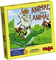 Animal Upon Animal - Classic Wooden Stacking Game Fun for the Whole Family (Made in Germany)