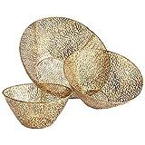 Cyan Design 06224 Sydne Bowls Ideal Gift for Wedding, Floral / Floor Vase, Party, Home Decor, Office, Spa