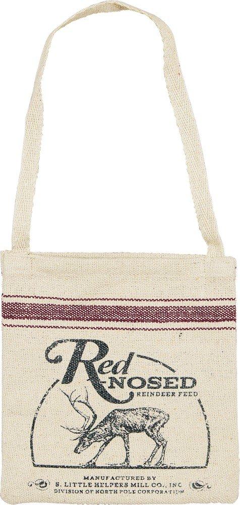 プリミティブby Kathy Hanging 7 Inch Square Bag – Red Nosed B0756HV9YM