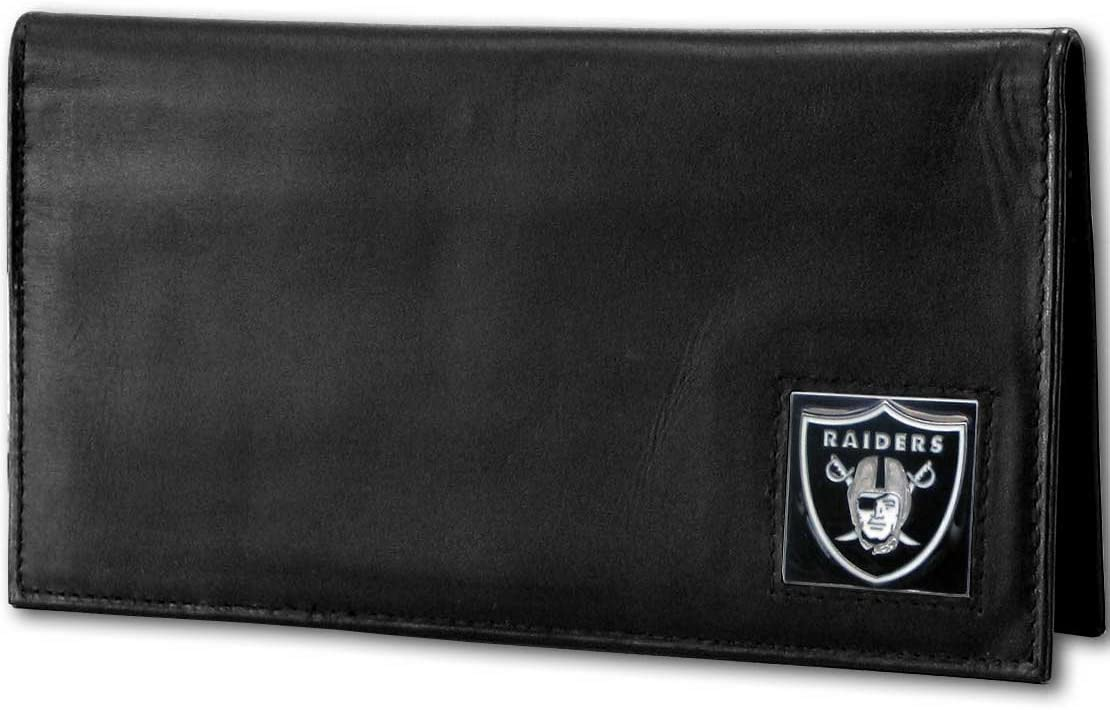 Siskiyou NFL Fan Shop Deluxe Leather Checkbook Cover