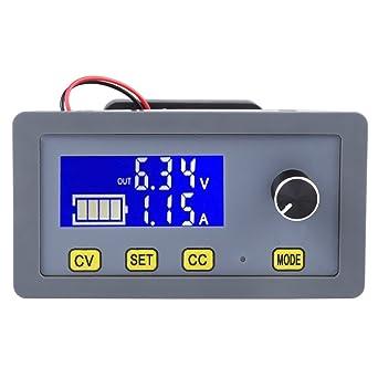 5A Adjustable DC Step Down LCD Digital Power Supply Module 6V-32V to 0-32V w//Fan