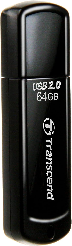 Transcend Jetflash 350 64gb Usb Stick Schwarz Computer Zubehör