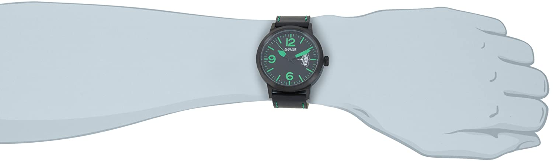 August Steiner Hombre Bold de cuarzo suizo Militar reloj luminiscente: Amazon.es: Relojes