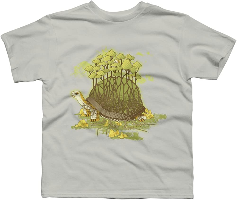 Design By Humans T Forest Guardian Boys Youth Graphic T Shirt