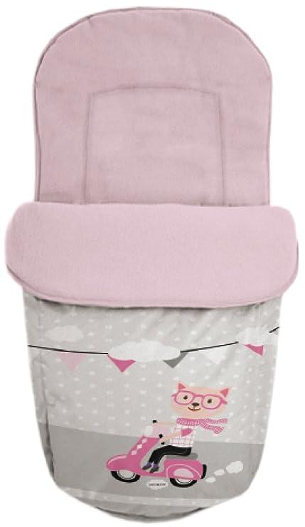 Baby Star 25504 - Saco para silla universal, color rosa y ...