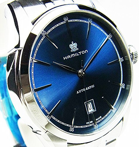 Hamilton Spirit of Liberty Automatic Blue Dial Men's Watch H42415041