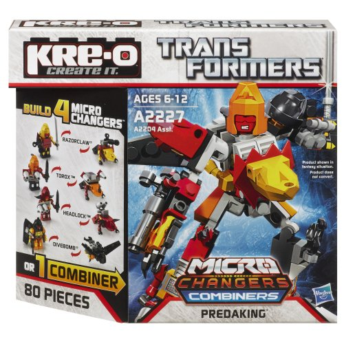 KRE-O Transformers Micro-Changers Combiners Predaking Set - Combiners Kreo Transformers