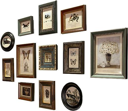 Famille Vintage Cadre Photo Décoration Maison Art En Bois Mariage À faire soi-même cadres vintage