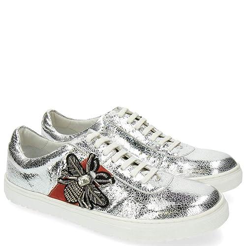 Of Silver Mh Shoes Melvinamp; Hamilton Made Hand 3 Metal Class Jean USVzMp