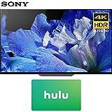 Sony XBR65A8F 65-Inch 4K Ultra HD Smart BRAVIA OLED TV (2018 Model) with Hulu $100 Gift Card
