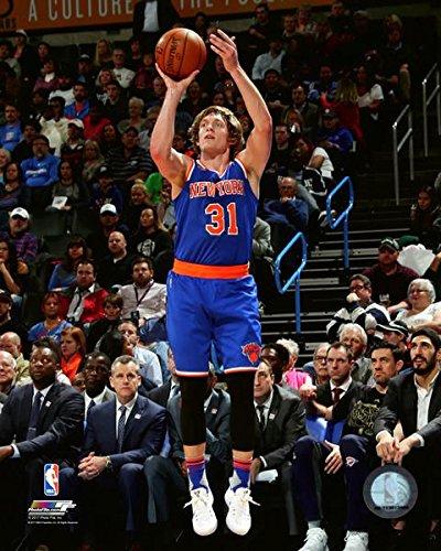 Ron Baker New York Knicks Action Photo (Size: 8' x 10') Photo File AAUB006