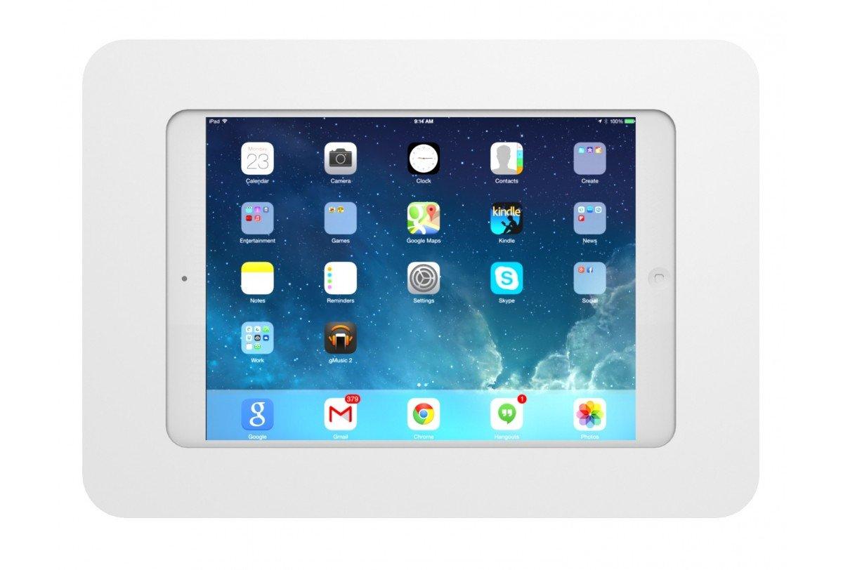 Maclocks 260ROKW Rokku Secure Enclosure Wall Mount for iPad Air/ iPad Pro 9.7 (White) by Compulocks