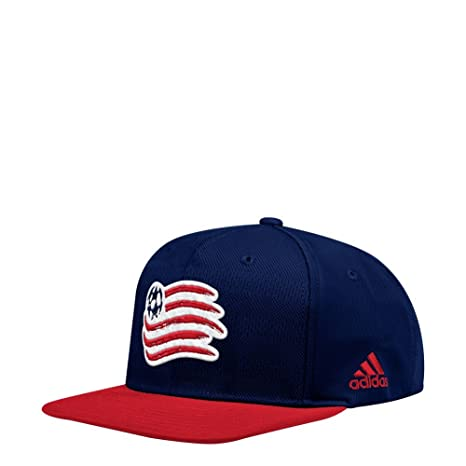 41bf03d3b03e6 Amazon.com : adidas New England Revolution Snapback Hat Authentic ...