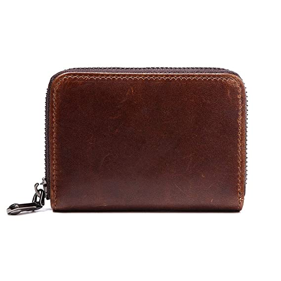 Amazon.com: Cowherd Vingt Genuine Leather Credit Card Holder ...