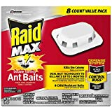 Raid Max Double Control Ant Baits, 8 CT (Pack - 1)