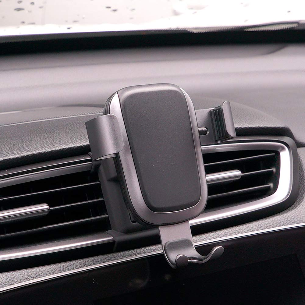 Phone Holder for Honda CRV, Dashboard Air Vent Adjustable Cell Phone Holder for Honda CRV 2019 2018 2017,Phone Mount for iPhone 8 iPhone X,Wireless Charging Smartphone 5.5~6 in