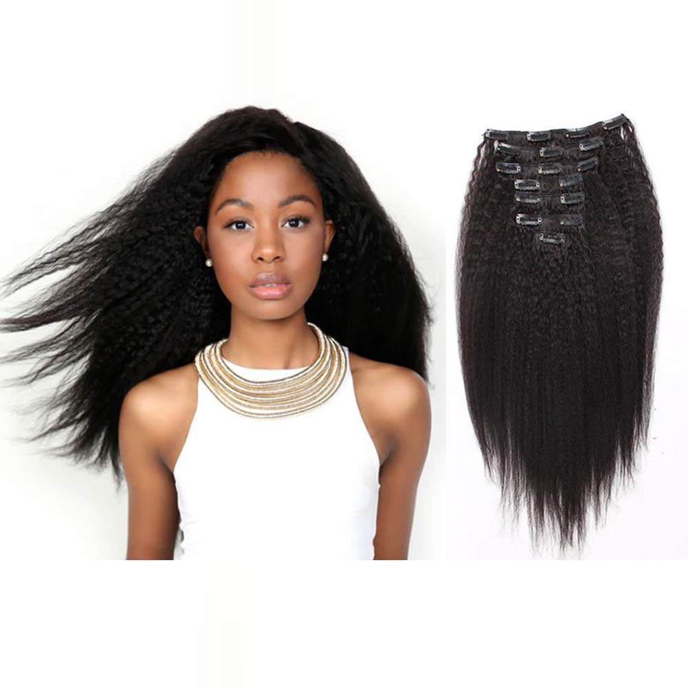 Amazon Amazingbeauty Clip In Hair Extensions Afro Kinky