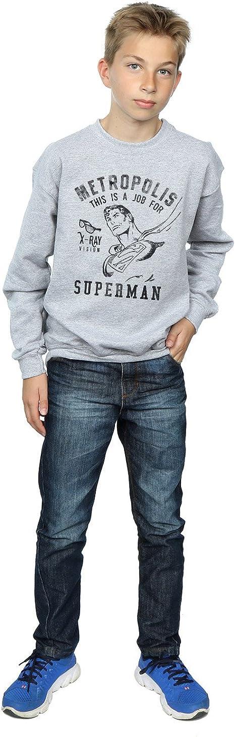 DC Comics Girls Superman X-Ray Sweatshirt