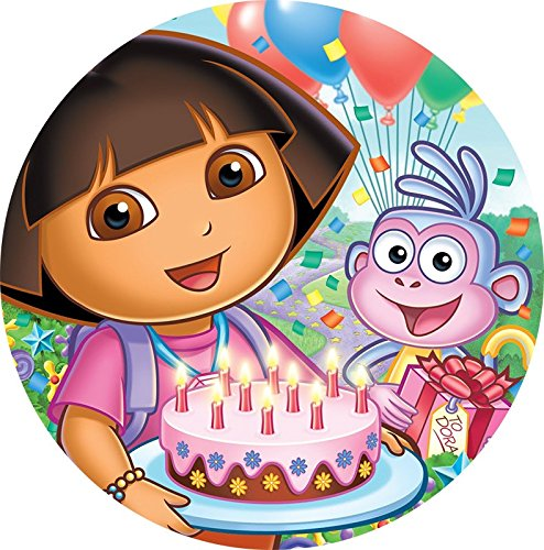 Dora Cake Toppers - 8