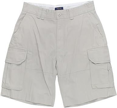 utloppsbutik supersöt nytt koncept germany polo mens white cargo shorts ada81 c305e