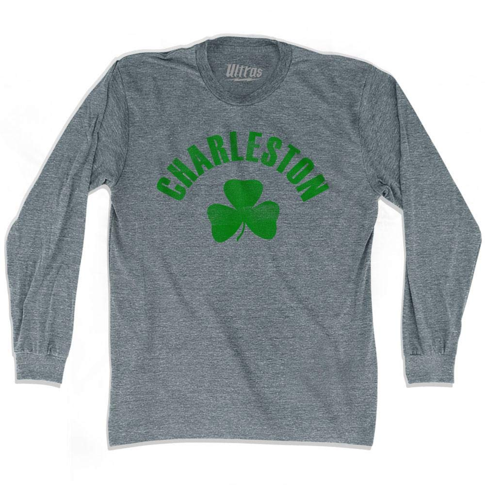 Charleston City Shamrock Tri-Blend Long Sleeve T-Shirt