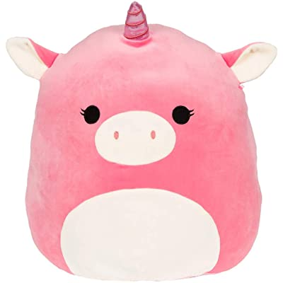 Kellytoys Squishmallow Original 12inch Pink Unicorn Plush Toy Pillow Pet Animal Pillow Pal Buddy: Toys & Games