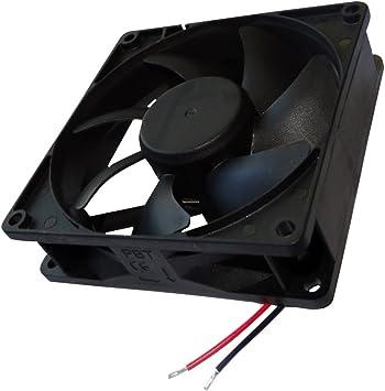 AERZETIX: Ventilador para Caja de Ordenador 24V 92x92x25mm 87,55m3 ...