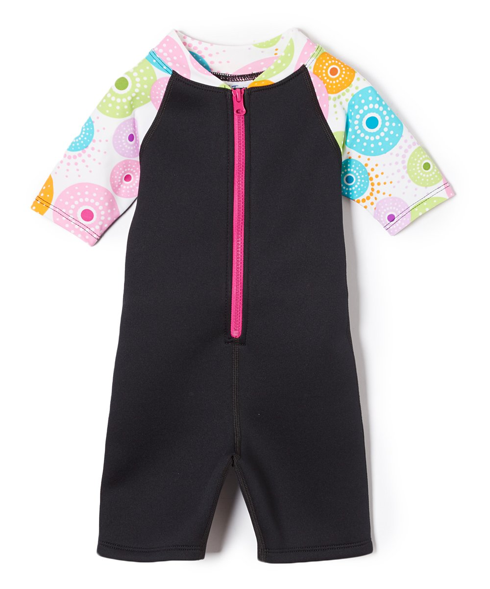 Tuga Girls Shorty 1.5mm Neoprene/Spandex Wetsuit (UPF 50+), Urchinberry, 2 yrs by Tuga Sunwear