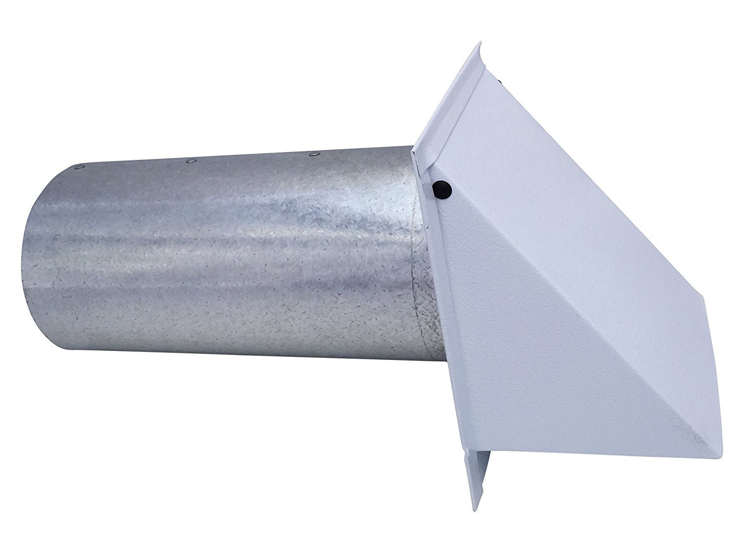 4 Inch Wall Vent Painted White Screen Only (4 Inch diameter) - Vent Works by Vent Works (Image #1)