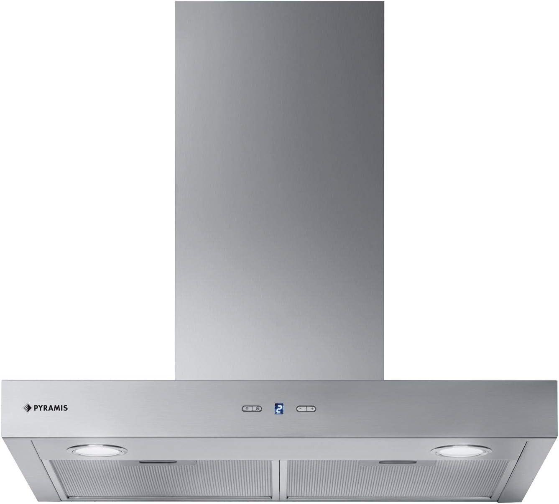 Campana ancha de acero inoxidable, 60 cm: Amazon.es: Grandes electrodomésticos