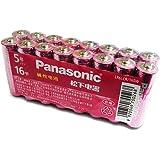 松下(Panasonic) 碱性电池儿童玩具遥控器家用电池5号16节 LR6LCR/16SW(亚马逊自营商品, 由供应商配送)