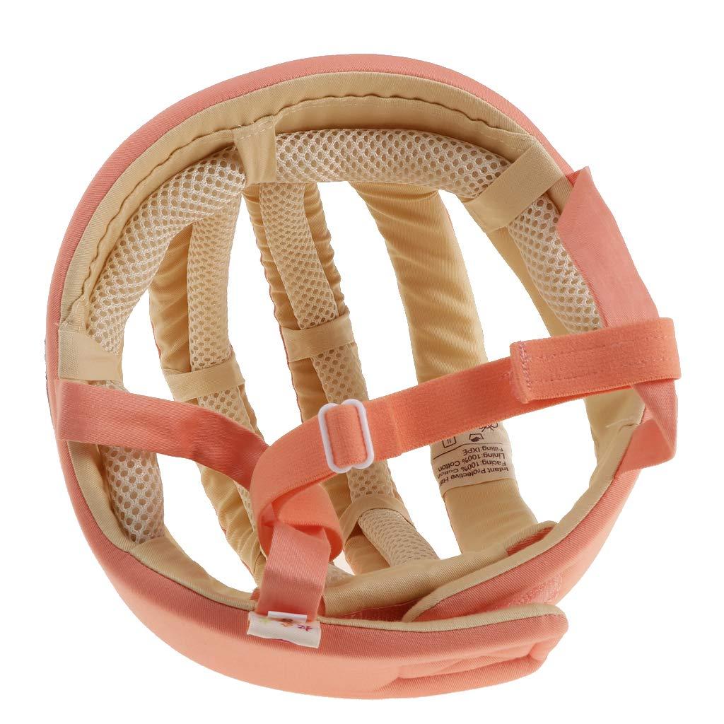 Type B CUTICATE Chapeau De Protection De T/ête pour Casque De S/écurit/é pour Tout-Petits Orange