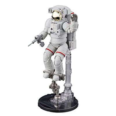Bandai Hobby ISS Space Suit Extravehicular Mobility Unit 1/10 - Exploring Lab Series: Toys & Games