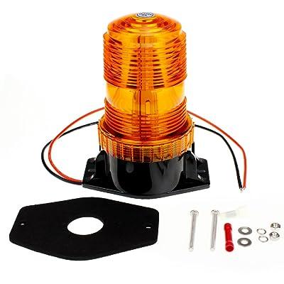 Encell LED Emergency Warning Light Bright Waterproof Car Truck Strobe Light: Automotive