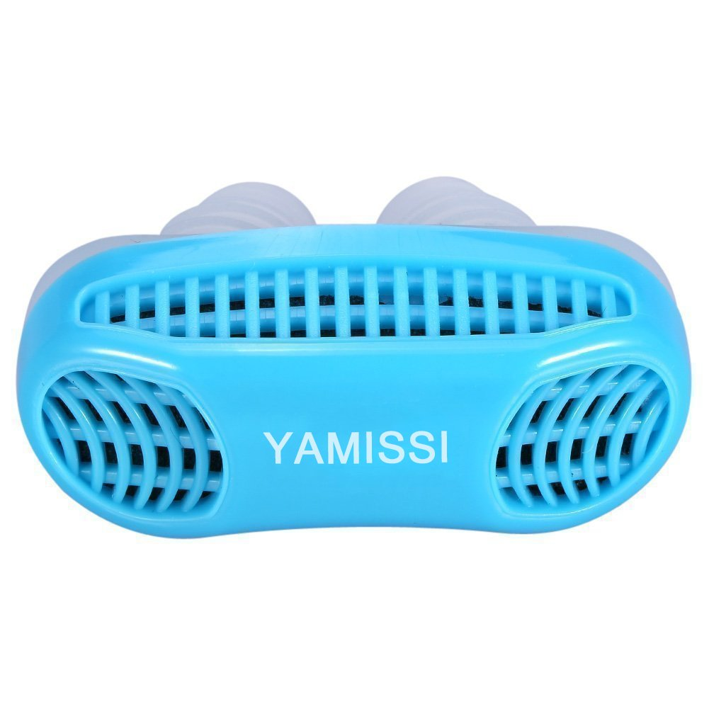 Anti-Snoring Device:Sleep Aid- 50% OFF SALE Airing,2 Pack of Silicone Air Purifier Filter Snore Stopper Device Chin Strap,Stop Snoring,Get the Restful Night you Deserve,with Travel Case -Yamissi by Yamissi (Image #2)
