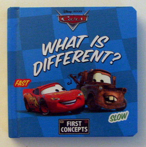Download What Is Different? (Disney/Pixar Cars, First Concepts) pdf epub