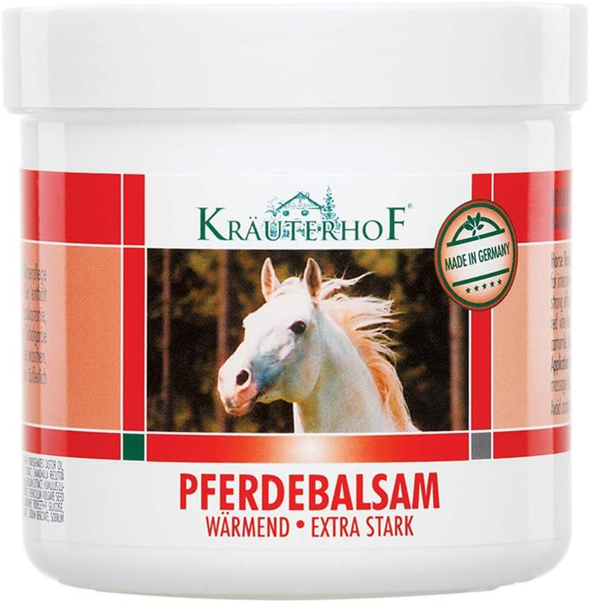 Kräuterhof 2180 - Bálsamo extra fuerte para caballos (250 ml)